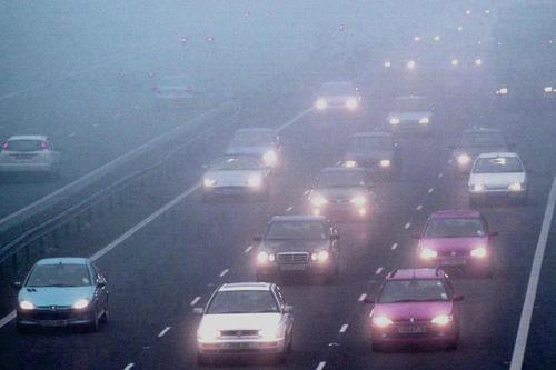 Kỹ năng lái xe đường sương mù