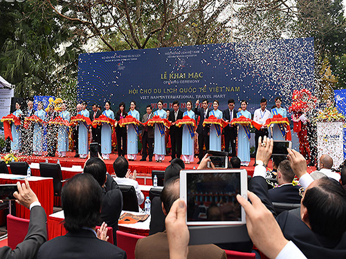 Khai Mạc Hội Chợ Du Lịch Quốc Tế Việt Nam - VITM Hà Nội 2017